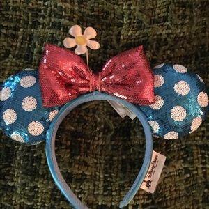 Disney Ears Minnie Mouse Park Original Blue